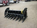 WILDKAT SKID STEER ROOT RAKE